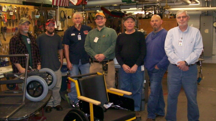 The Adaptive Engineering Technology team at the Riddle Center