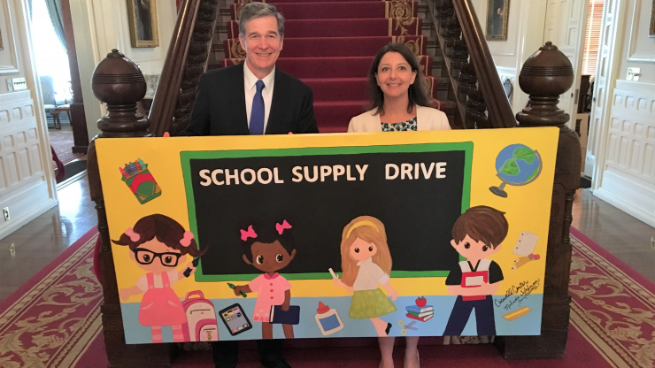 Governor Cooper and Secretary Mandy Cohen