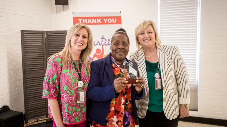 Cherry Hospital Volunteer Service Award Recipient