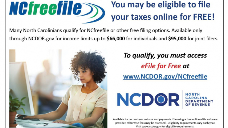 You may be eligible to file your taxes online for free.