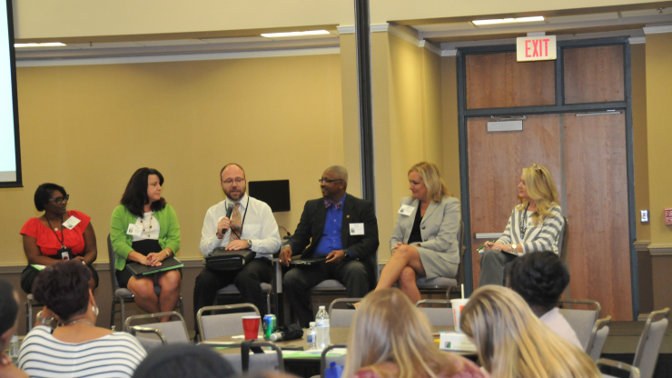 The N.C. Department of Health and Human Services concluded the third annual N.C. Community Transitions Institute Oct. 10 with a listening session at Wake Technical Community College in Raleigh.