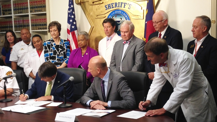 Governor McCrory Signs Life-Saving Overdose Prevention Legislation