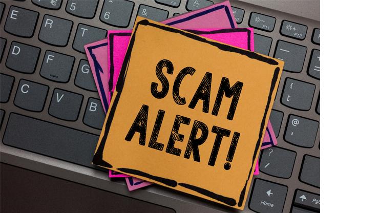 scam graphic