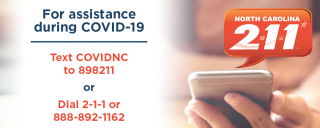 Call 2-1-1 or 888-892-1162 for COVID-19 questions.