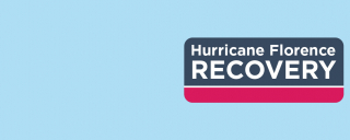 Hurricane Florence recovery logo