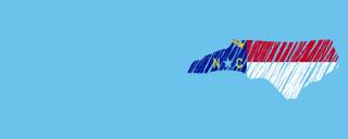NC map logo