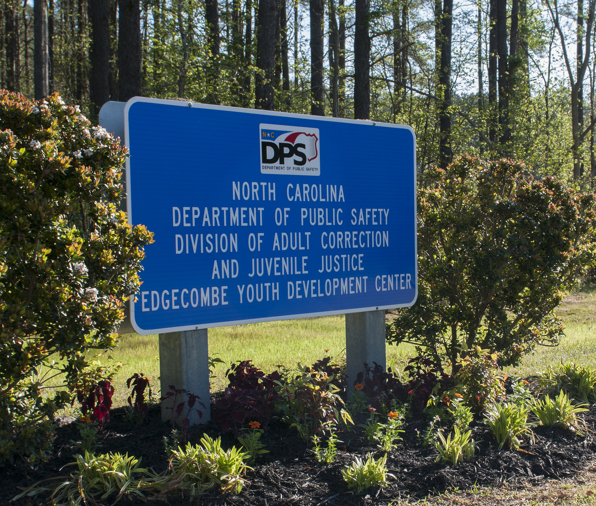 sign for correction facility
