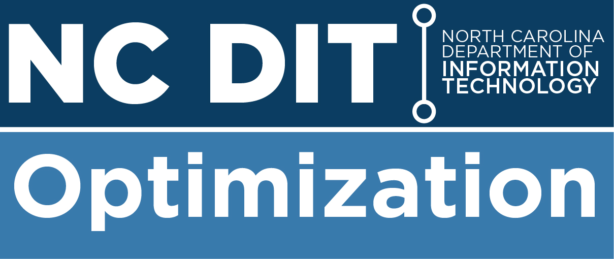 NCDIT Optimization Logo