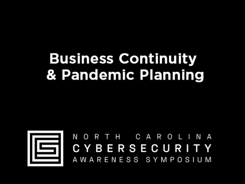 Business Continuity & Pandemic Planning