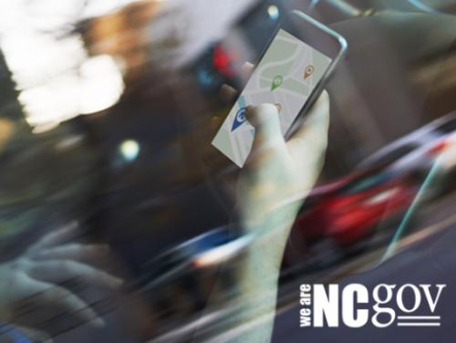We are NC Gov logo page