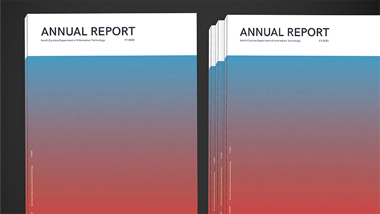 Illustration of NCDIT's FY 2020 Annual Report