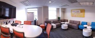 interior view of Wake Innovates space