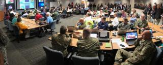 Hurricane Dorian Emergency Operation Center