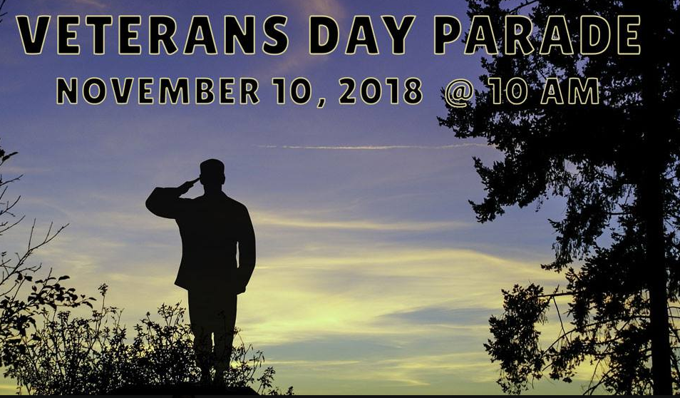 Alamance County Veterans Day Parade Flyer