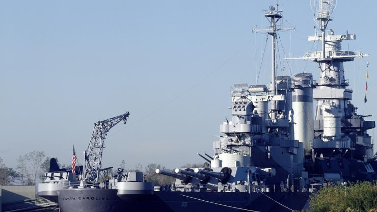 The USS North Carolina