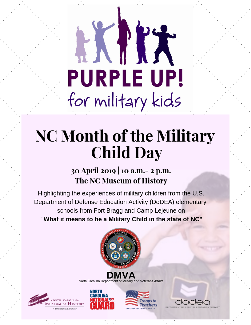 Month of the Military Child Day Flyer