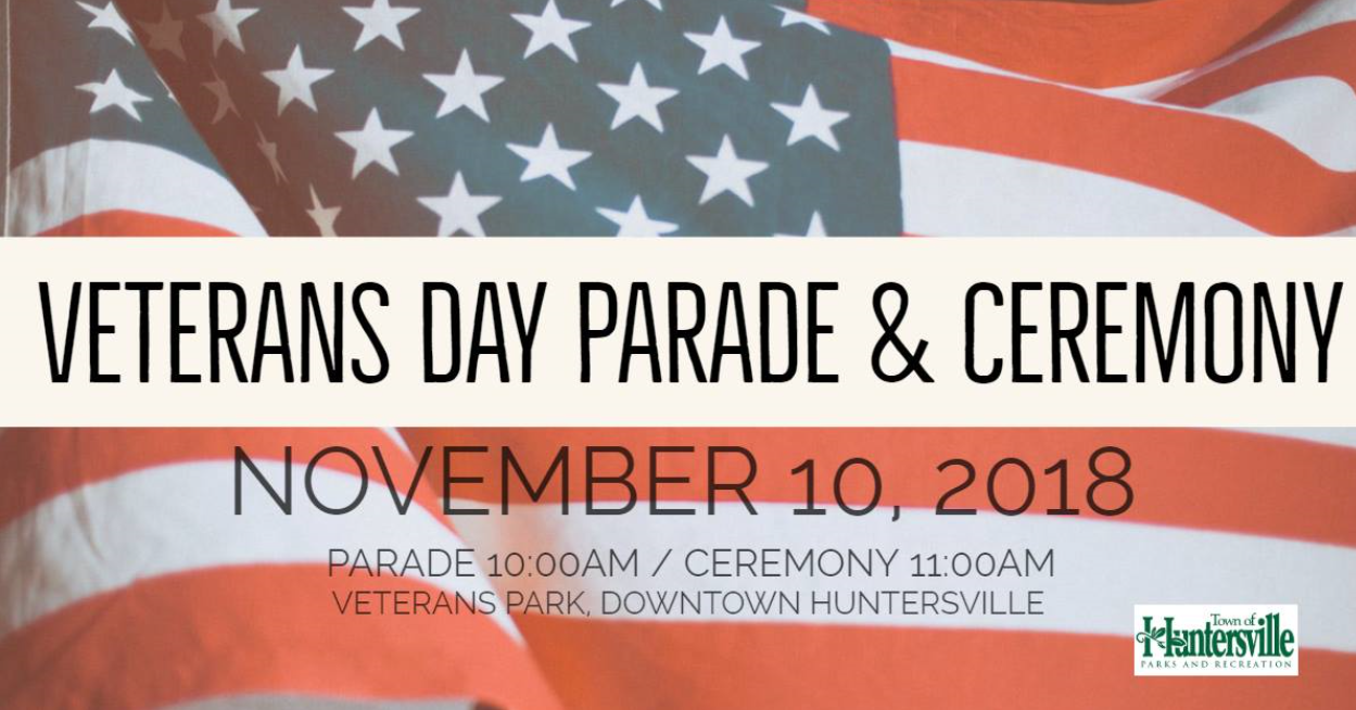 Veterans Day Parade & Ceremony