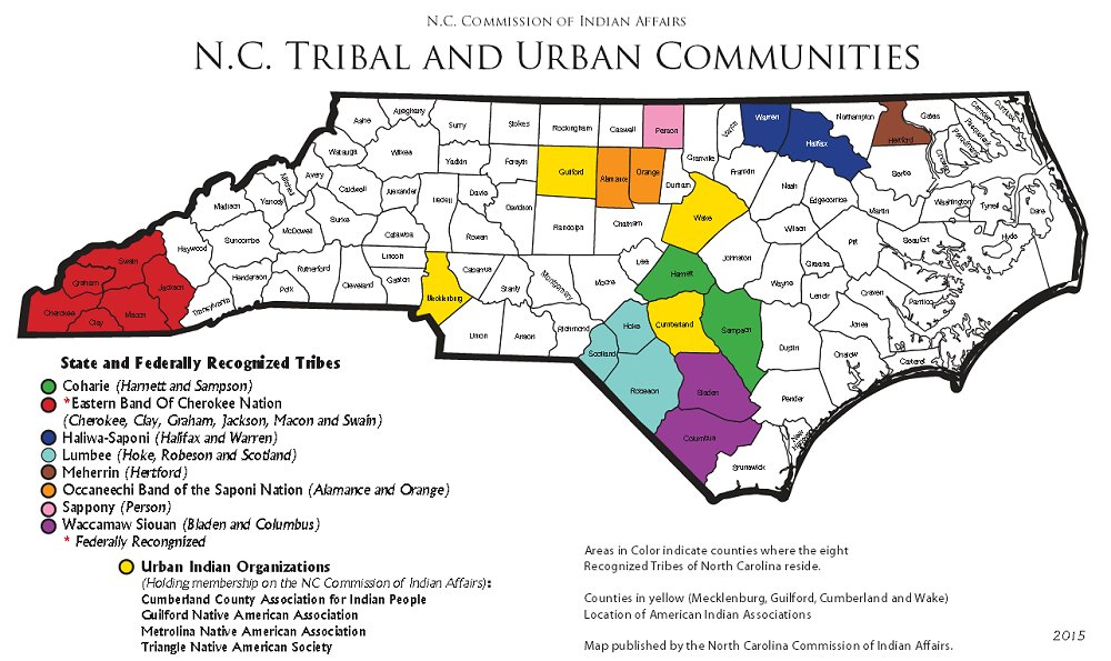 NC DOA: Cmission of Indian Affairs