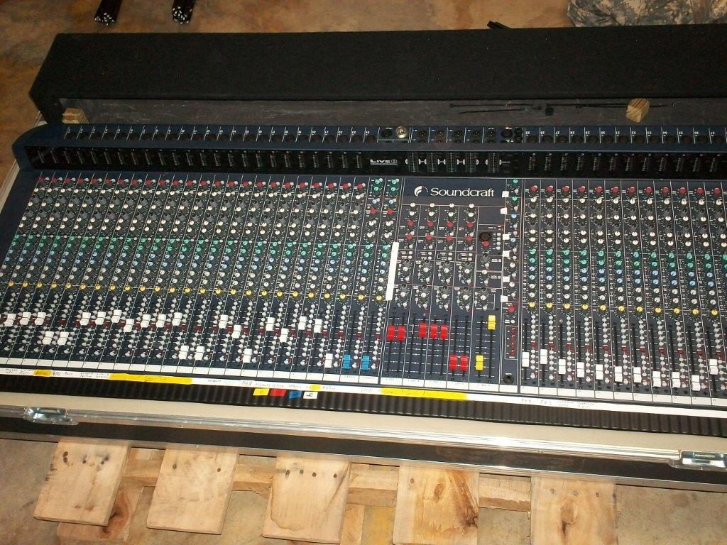 Soundcraft Mixing Board