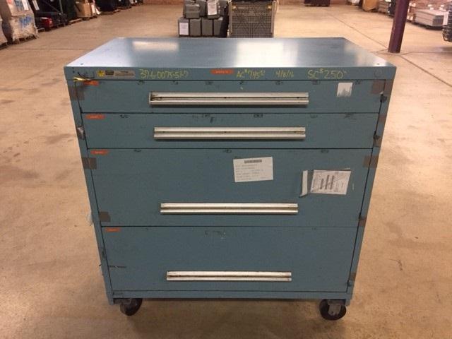 Stanley Vidmar tool Cabinet