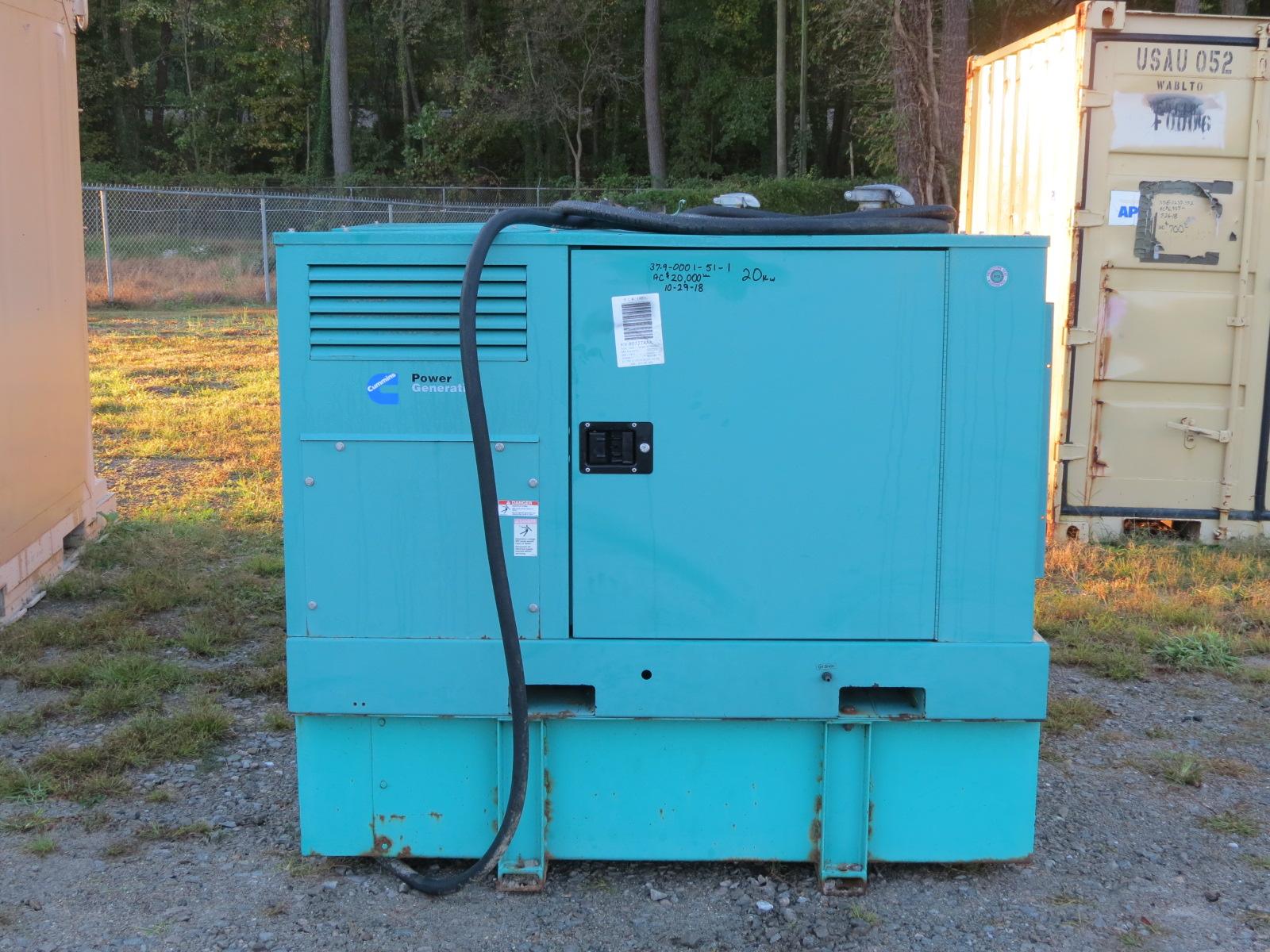 Cummins 20 kW Generator