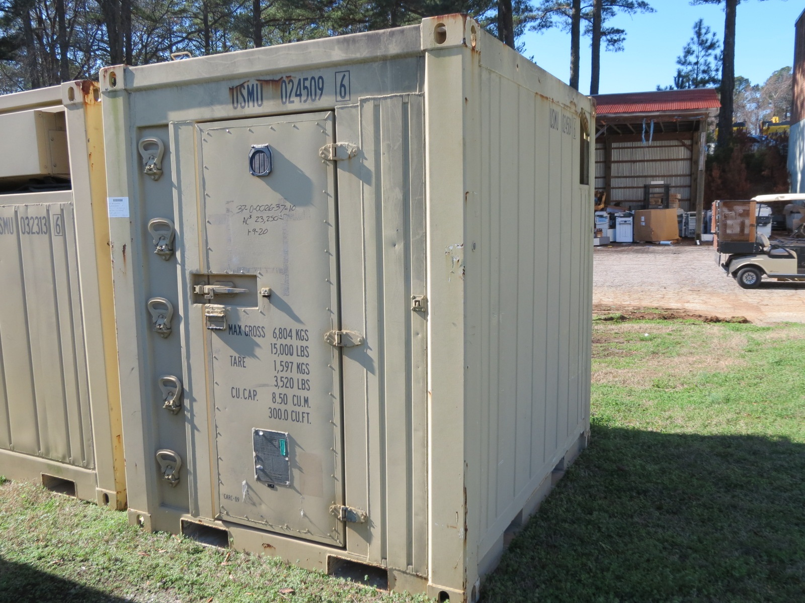 Refrigeration Container