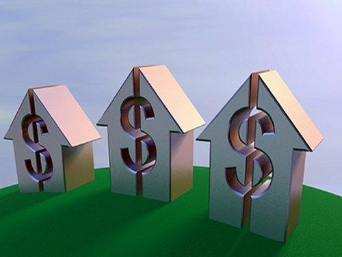 House with dollar sign
