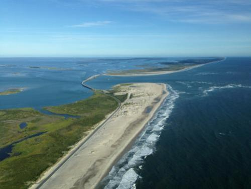 Photo of inlet