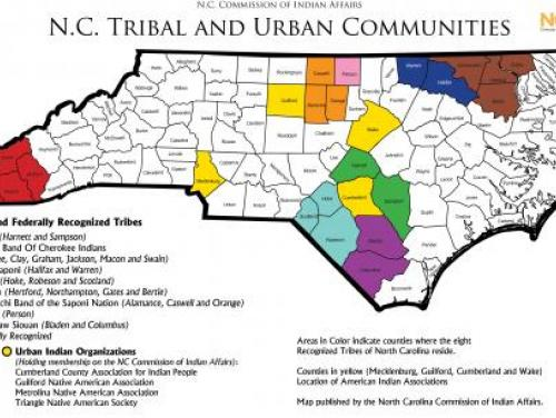 Map of Tribal Communities