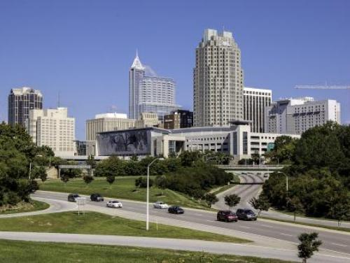 Downtown Raleigh Cityscape