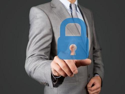 Businessman Lock