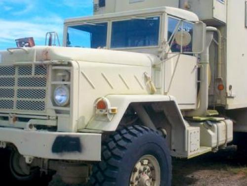 Surplus property truck