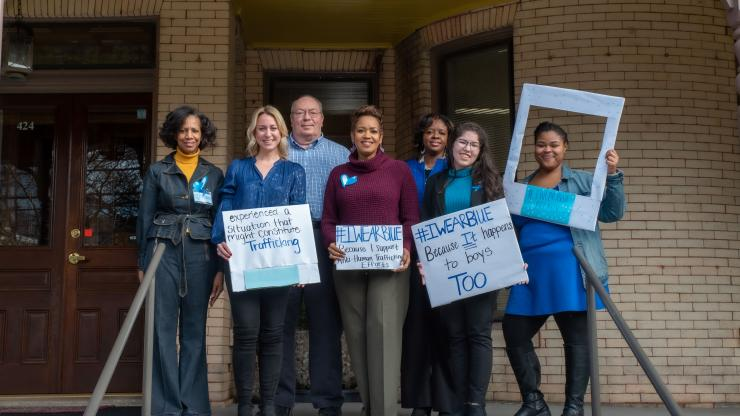 Raising Awareness and Promoting Prevention - Recognizing Human Trafficking Awareness Month