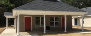 Parish Place, Section 8 housing for people with disabilities, in Red Springs, North Carolina.