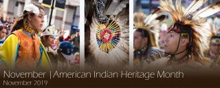 November | American Indian Heritage Month
