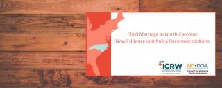 Child Marriage in North Carolina