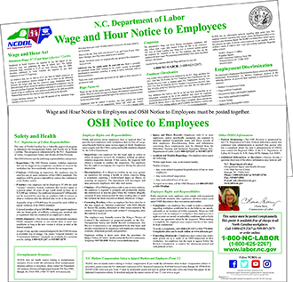NC DOL: Free NCDOL Labor Law Poster Order Form Workplace Safety Work Order Form on 3m safety glass form, fire extinguisher checklist form, safety home, receipt of goods form, safety work posters, work request form, washington state emergency contact form, safety incident report form, job completion release form, safety work order template, safety training form, safety inspection form,