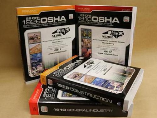 OSHA Standards Books