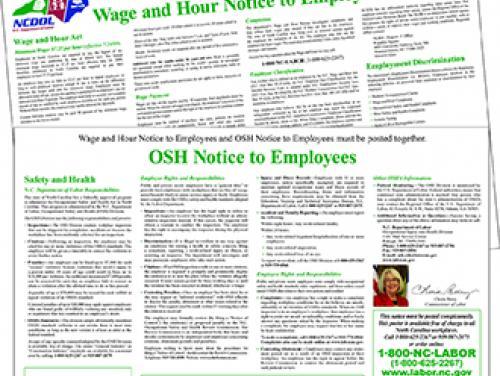NC DOL: Publications