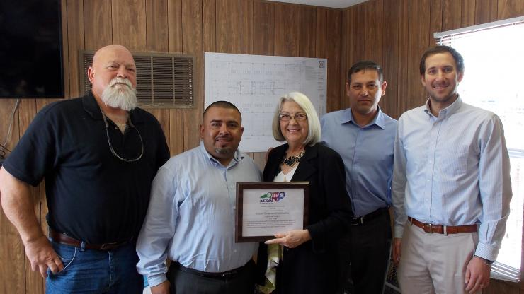 NCDOL Partnership with Holder Construction