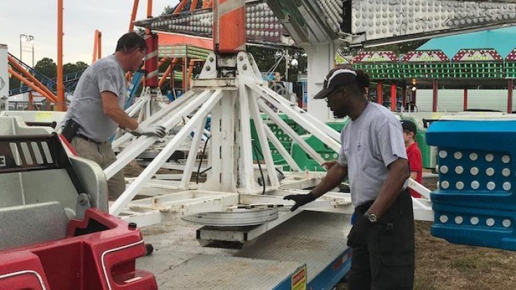 Amusement Device inspection