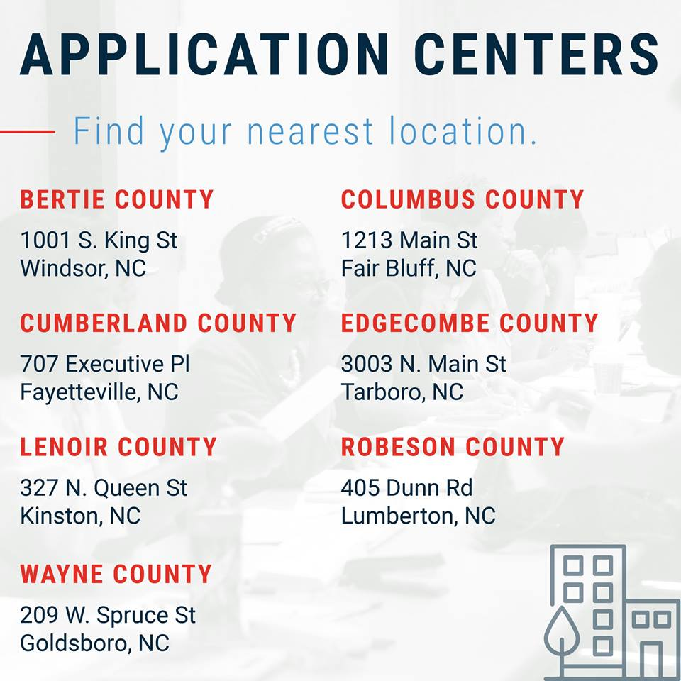 Application Center locations
