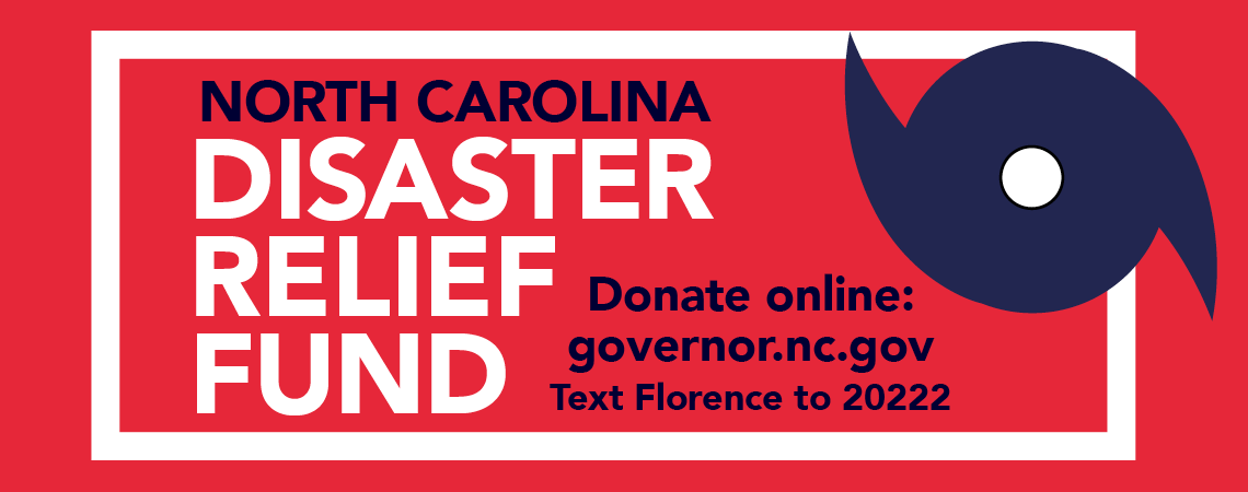 Donate to the North Carolina Disaster Relief Fund
