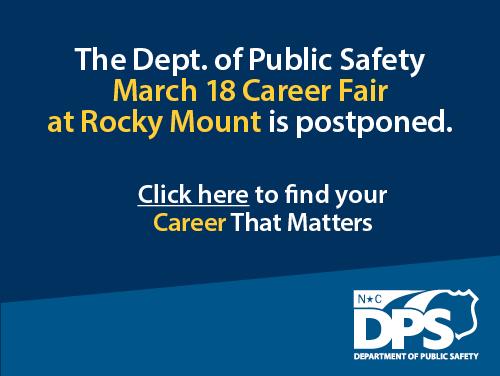 March 18 Career Fair Postponed
