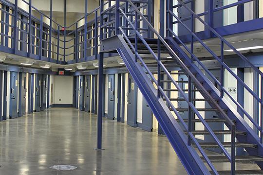 close custody cell block