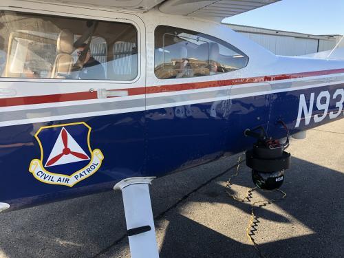 CAP aircraft with camera