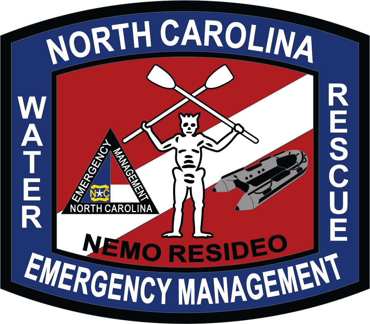 NCEM Water Rescue Patch