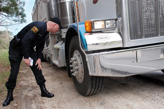 Troopers Inspect 500 Commercial Motor Vehicles during Operation Road Watch in Nash County