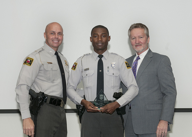 NC DPS: State Highway Patrol Employees and Citizens Receive