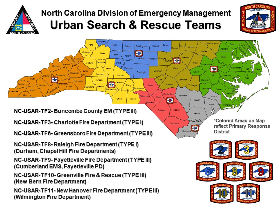 NC DPS: Urban Search & Rescue